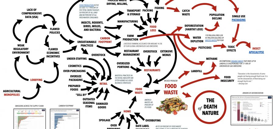 Food Waste map